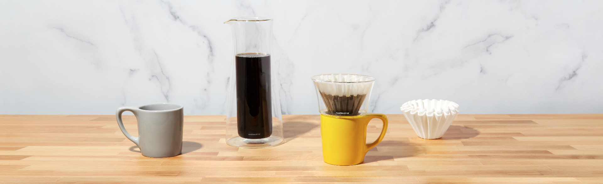 Gino Pour-Over System