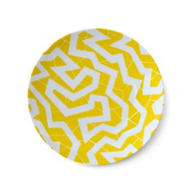 Small Plate - 'Spinne' Yellow