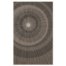 Eccentric Area Rug - Sable/Dark Sable