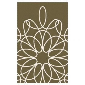 Ribbon Area Rug - Sable/White