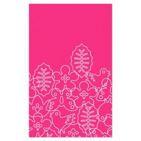 Season Area Rug - Pink/White