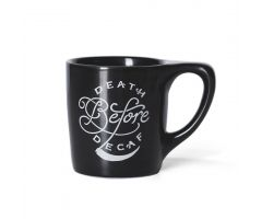 "LINO ""Death Before Decaf"" Mug"