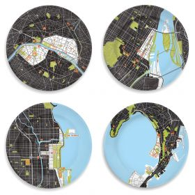 City Plate Collection #5