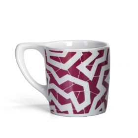 LINO Coffee Mug - 'Spinne' Burgundy
