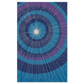 Eccentric Area Rug - Blue/Purple