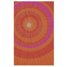Eccentric Area Rug - Orange/Red