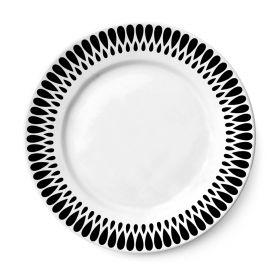 Ribbon Dinner Plates, Set/4