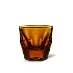 Vero Cortado Glass, Amber