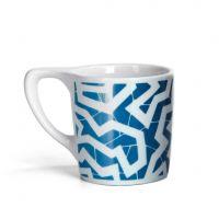 Lino Coffee Mug - 'Spinne' Blue