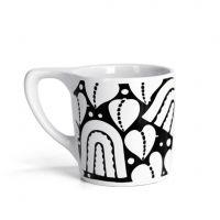 Lino Coffee Mug - 'Jagdfalke'