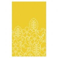Season Area Rug - Canary Yellow/White