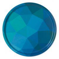 Prismatic Non-Slip Tray - Blue/Green
