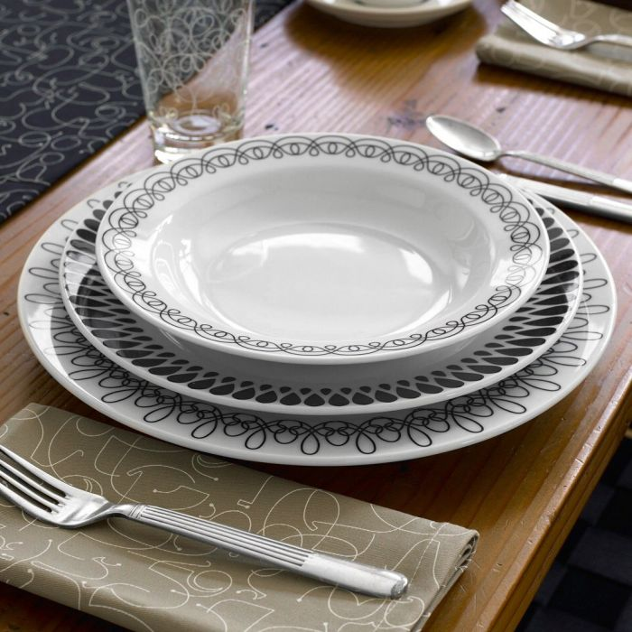 Skip to the end of the images gallery & Ribbon 16-Piece Dinnerware Set