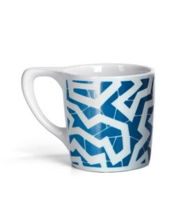 LINO Coffee Mug - 'Spinne' Blue