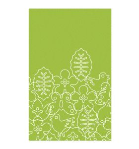 Season Area Rug - Lotus Green/White