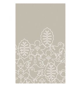 Season Area Rug - Light Sable/White