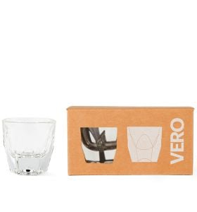 VERO Cortado Glass, Clear - Gift Set/2